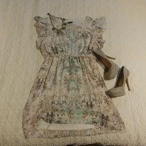 ATP.9 100% polyester dress.